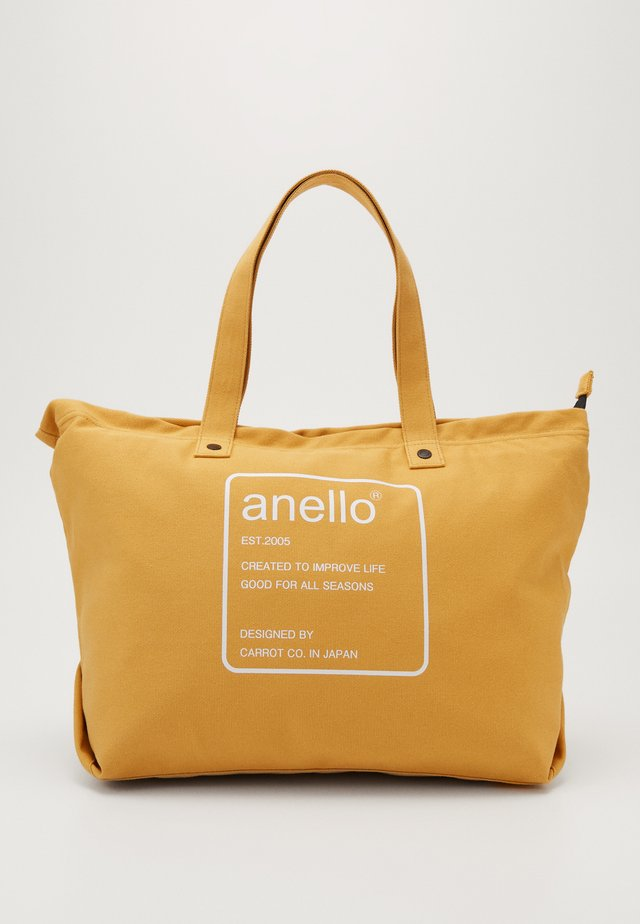 AUBREY TOTE BAG  - Shoppingveske - mustard