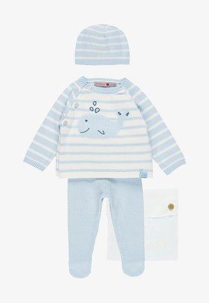 PACK STRICK FÜR BABY - Trui - sky blue