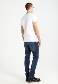 Hollister Co. - 3 PACK - Basic T-shirt - white grey navy - 2