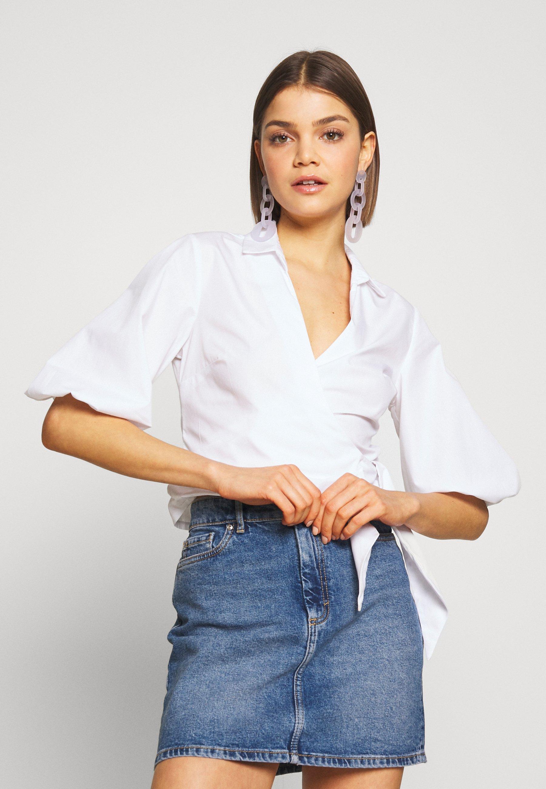Femme ONLROSE LIFE ASHAPE SKIRT - Jupe en jean