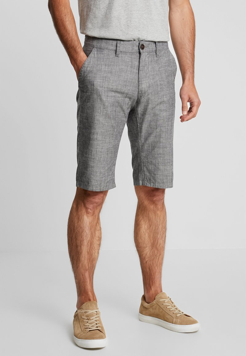 edc by Esprit - CHAMBRAY - Shorts - dark grey