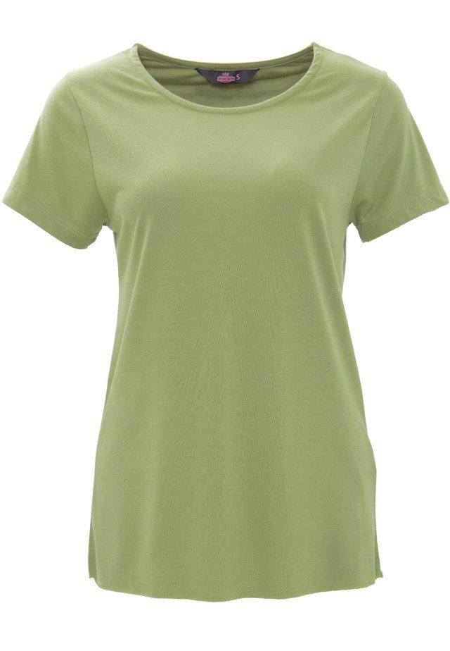 Basic T-shirt - olivgrün