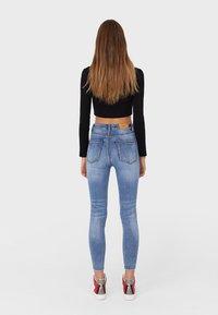 Stradivarius - Jeans Skinny Fit - light blue - 2