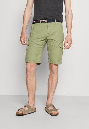 JOHN CARGO BELT - Shorts - faded olive