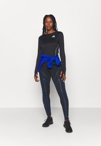 adidas Performance - REFLECTIVE - Sports shirt - black - 1