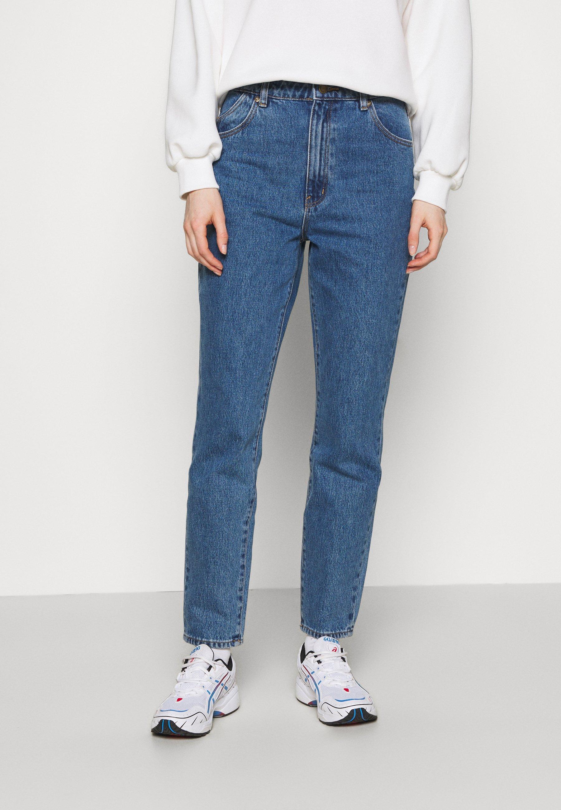 Women DUSTERS - Straight leg jeans - meadow blue