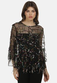 myMo at night - Blouse - schwarz multicolor - 2