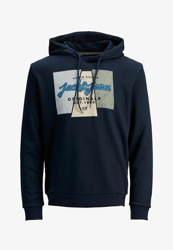 JORLOGON - Hoodie - navy