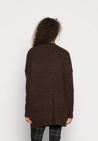 ONLY - ONLGABI LIFE CARDIGAN - Vest - mulch - 2