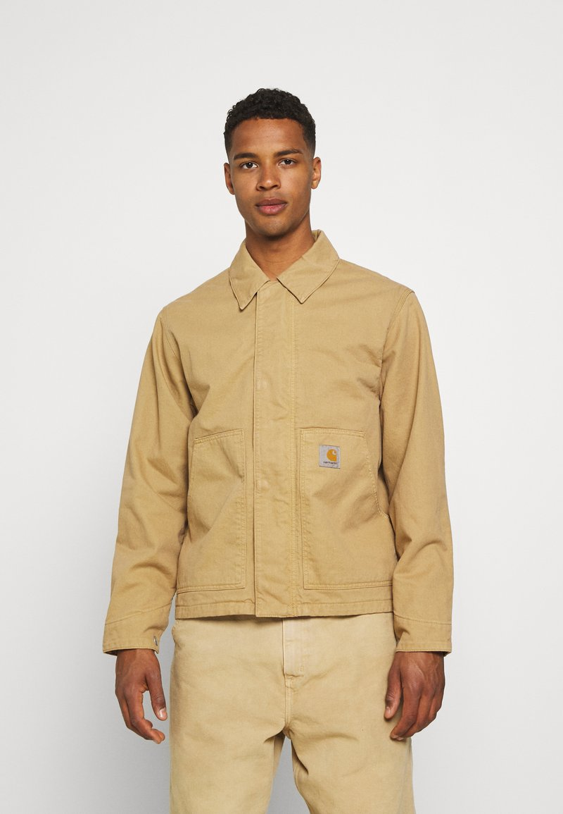 Carhartt WIP - ARCAN JACKET  - Denim jacket - dusty brown