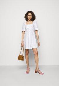 Pinko - ASSOLTO ABITO PESANTE - Day dress - white - 1