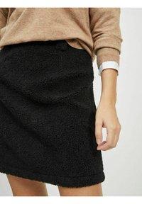 Object - A-line skirt - black - 3