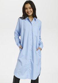 Kaffe - Shirt dress - chambray blue - 0