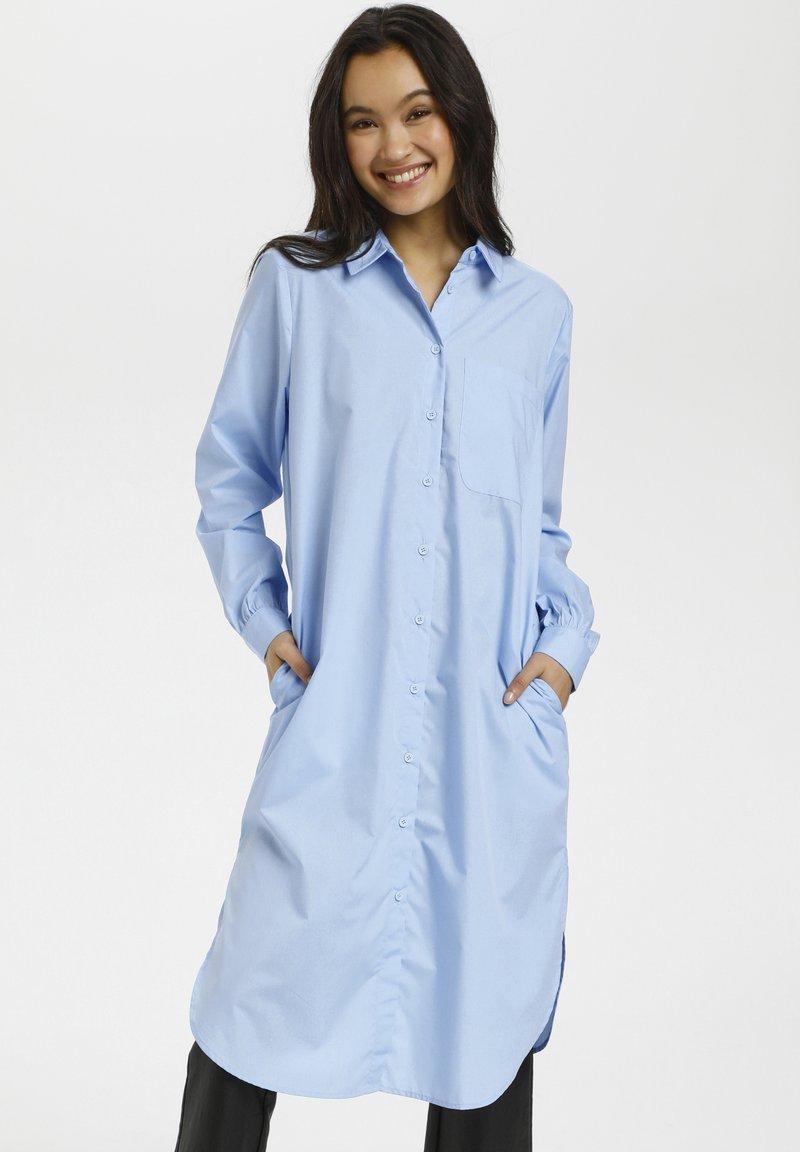 Kaffe - Shirt dress - chambray blue
