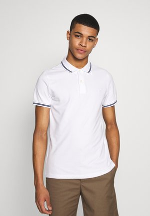 NOVELTY TIPPING - Poloshirts - white