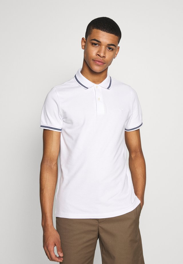 NOVELTY TIPPING - Polo - white