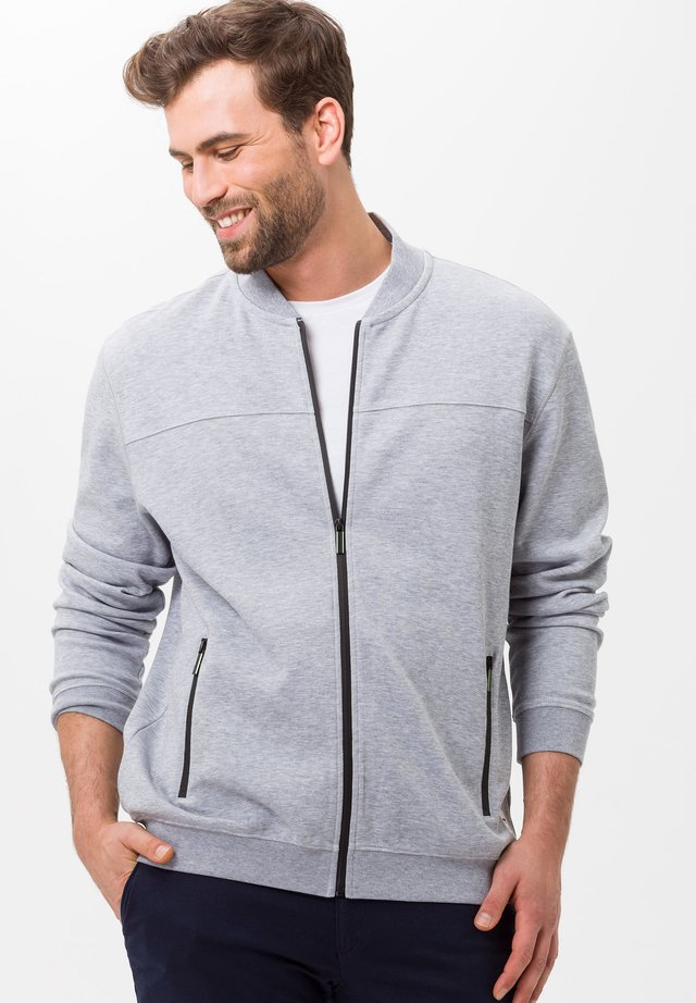 STYLE SAN DIEGO - Zip-up hoodie - grey