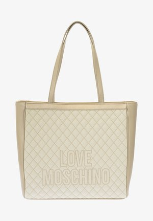 Tote bag - ivory/silver