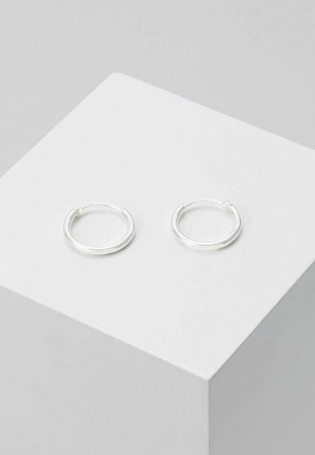 HOOP - Boucles d'oreilles - silver-coloured