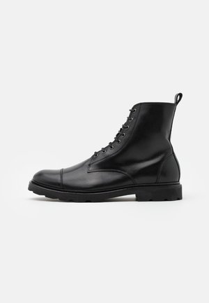 ALIAS HIKER COMBAT BOOT - Lace-up ankle boots - black