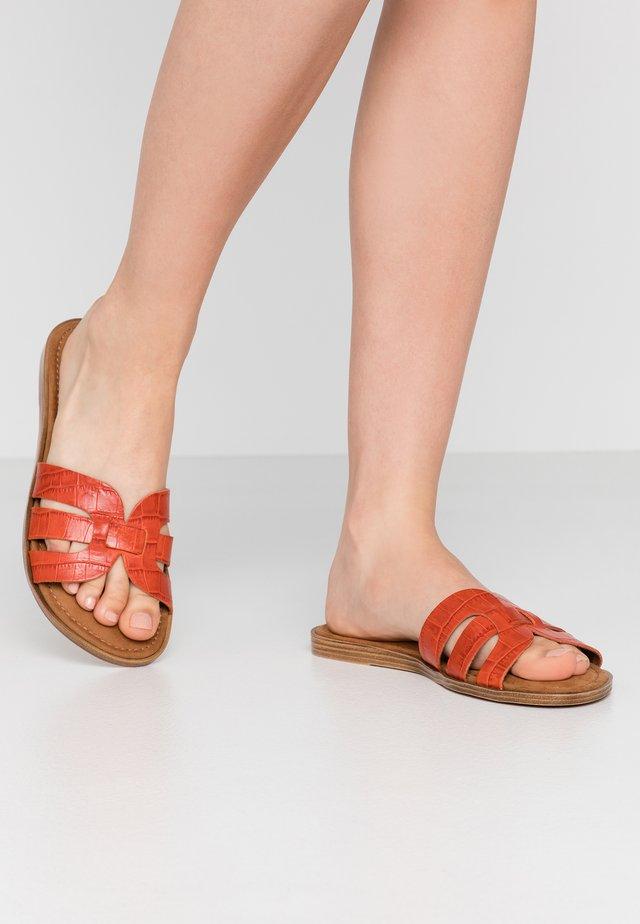 SLIDES - Pantofle - orange