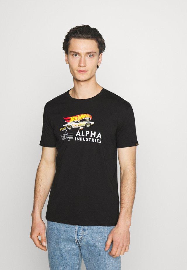 RODGER DODGER  - Print T-shirt - black