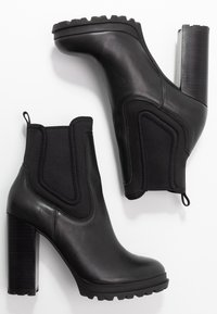 ALDO - ELRUDIEN - High heeled ankle boots - black - 3