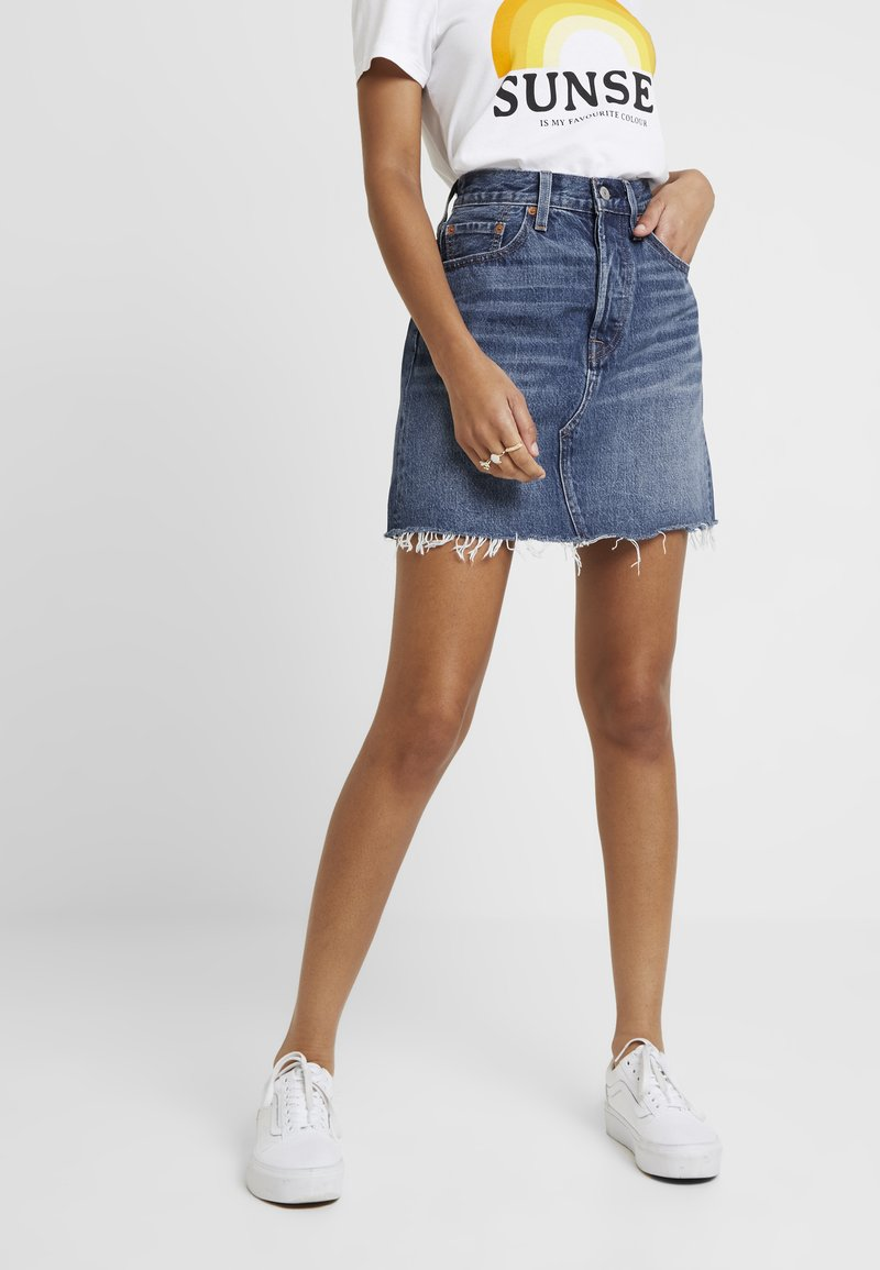 Levi's® - DECON ICONIC SKIRT - A-snit nederdel/ A-formede nederdele - snakehead
