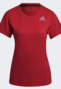 adidas Performance - HEAT RDY TEE - T-shirts med print - red - 8