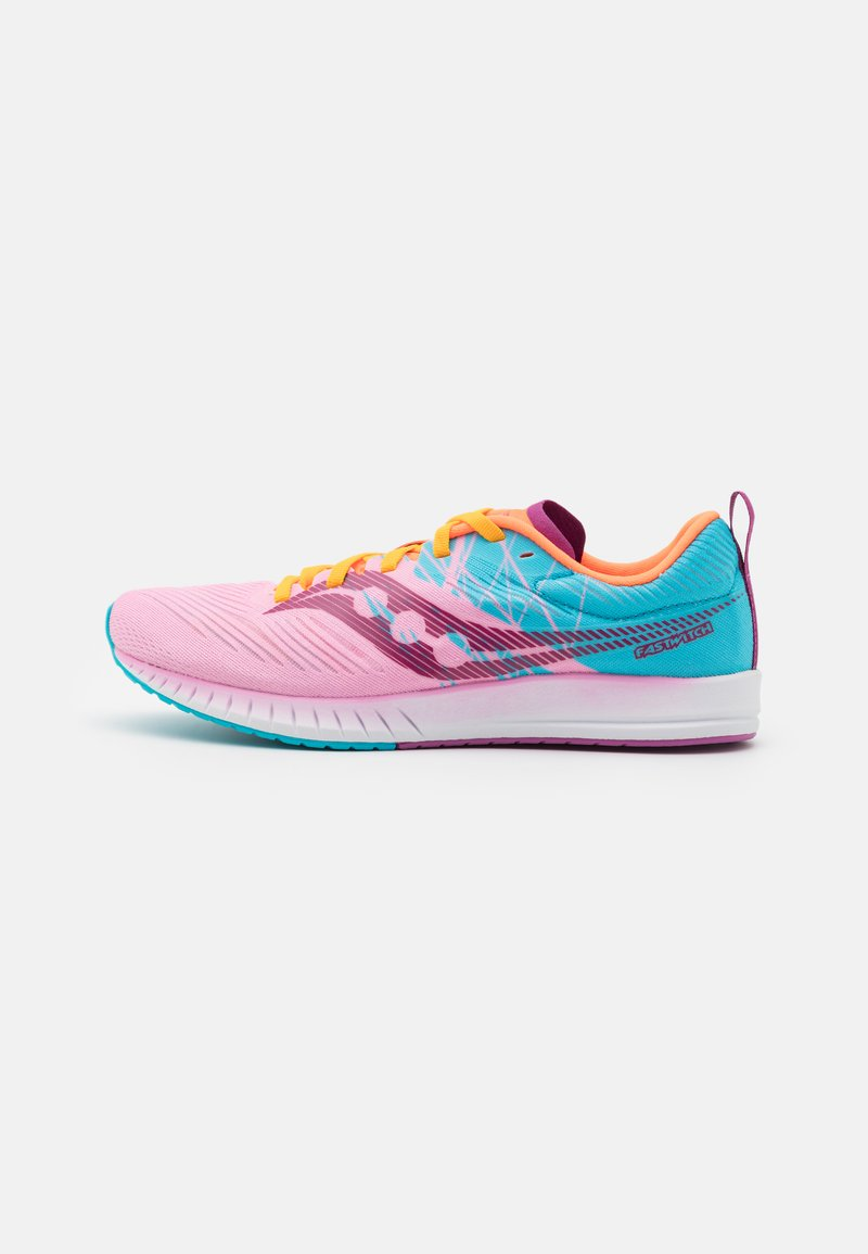 Saucony - FASTWITCH 9 - Competition running shoes - future pink