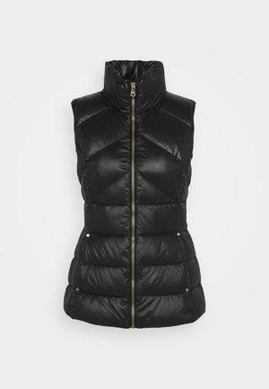 SOFT VEST - Waistcoat - black