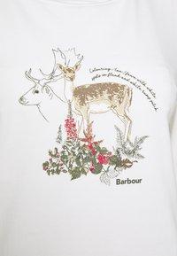 Barbour - LOCKWOOD TEE - Langarmshirt - off white - 2