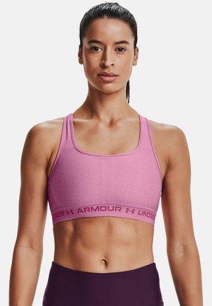 Medium support sports bra - planet pink light heather