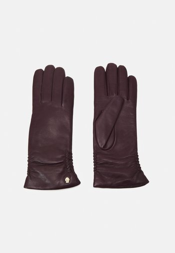 REGINA - Gloves - grape