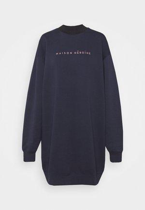 DRESS MOCK NECK - Kjole - midnight