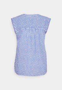 Emily van den Bergh - T-shirts print - azur/white - 1