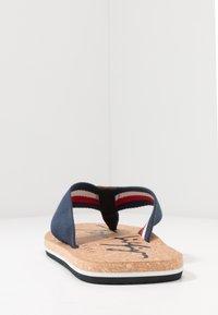 Tommy Hilfiger - SIGNATURE BEACH - T-bar sandals - blue - 3
