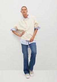 Mango - TARIFA - Sweatshirt - open beige - 1