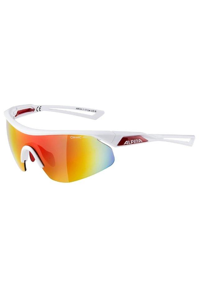 MANDANT - Sports glasses - white-red (a8634.x.10)
