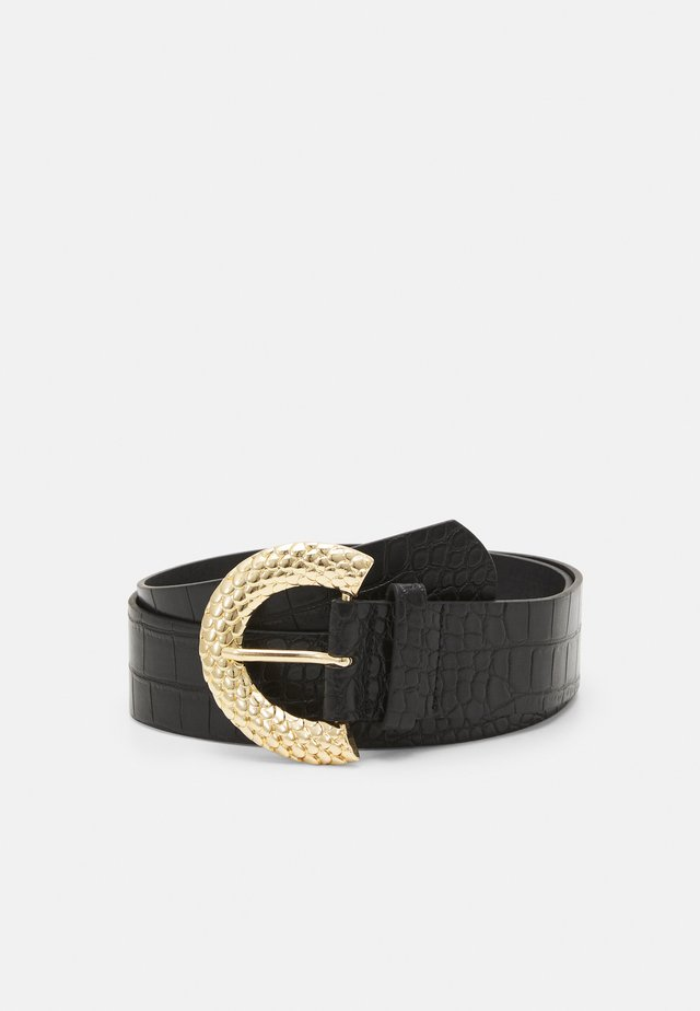 PCIZMA WAIST BELT - Pásek - black/gold-coloured