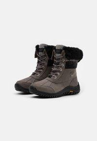 UGG - ADIRONDACK II - Winter boots - charcoal - 2