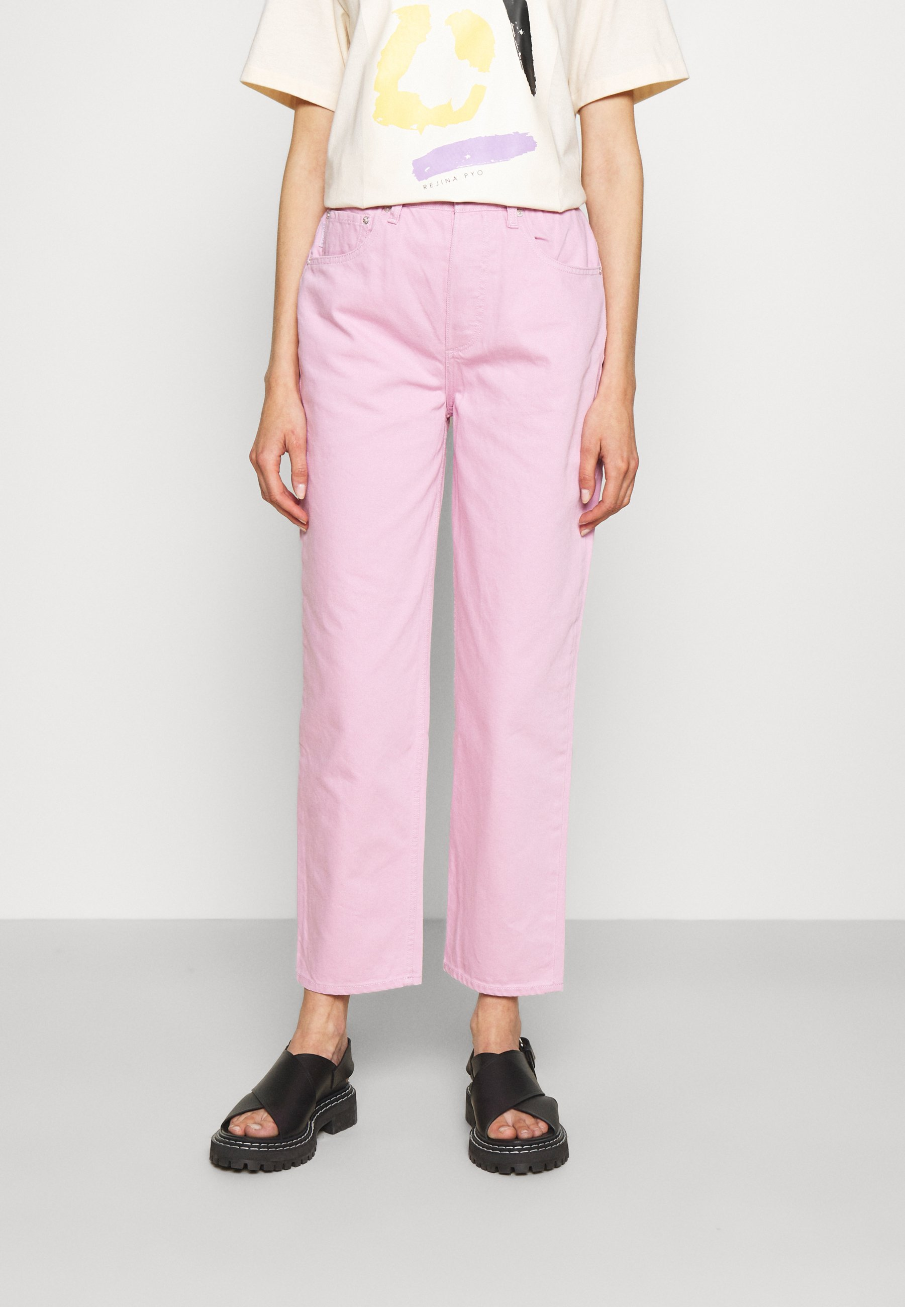 Women THE TOBY HIGH RISE - Relaxed fit jeans