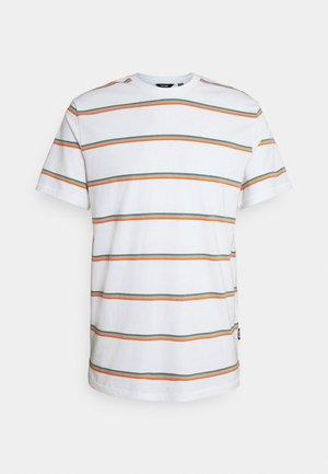 ONSMARIO LIFE TEE  - Print T-shirt - bright white