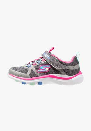 TRAINER LITE - Sneakers - charcoal/hot pink
