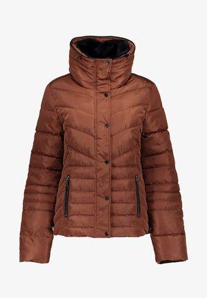 Gewatteerde jas - rust