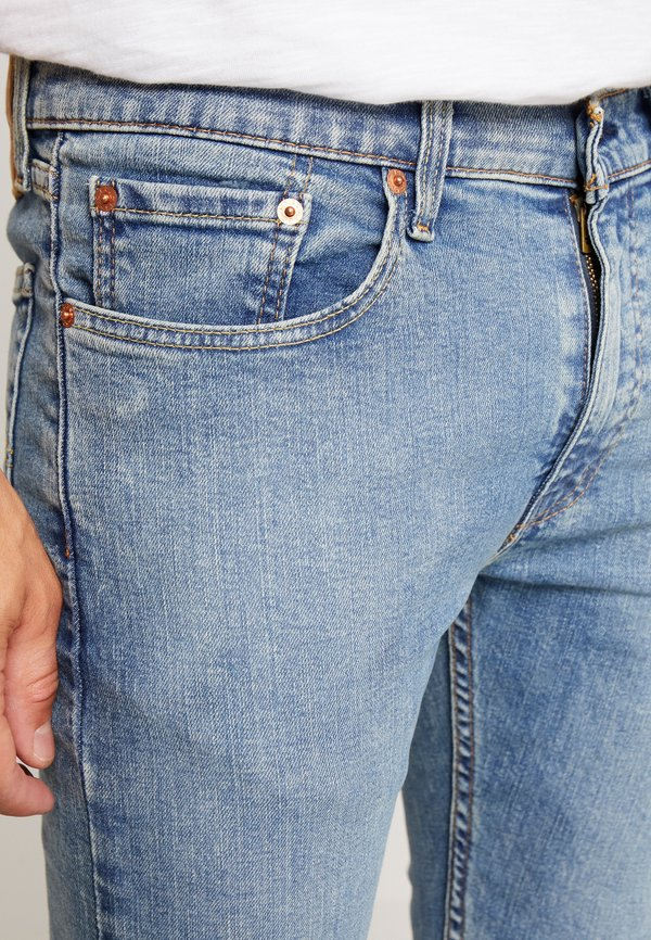 Levi's® 519™ EXT SKINNY HI-BALLB - Jeansy Skinny Fit - pickels/jasnoniebieski Odzież Męska BGQU