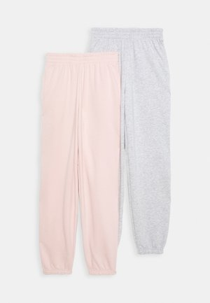 CUFFED 2 PACK - Tracksuit bottoms - pink