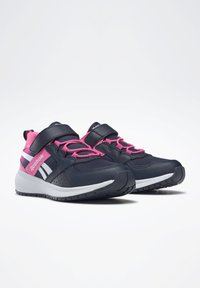 Reebok - ROAD SUPREME 2 ALT SHOES - Neutral running shoes - dark blue/pink - 2