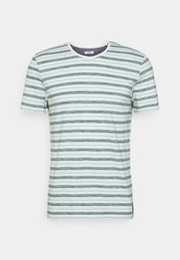 STRIPED - Print T-shirt - lucite green