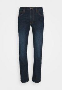DAREN ZIP FLY - Jeans straight leg - dark sidney